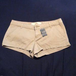 Tan Hollister Shorts!